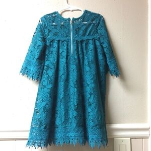 Jessica Simpson Dresses - Turquoise dress size 5T